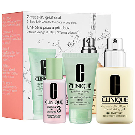Clinique 3-Step Oily Skin Care Introduction Kit