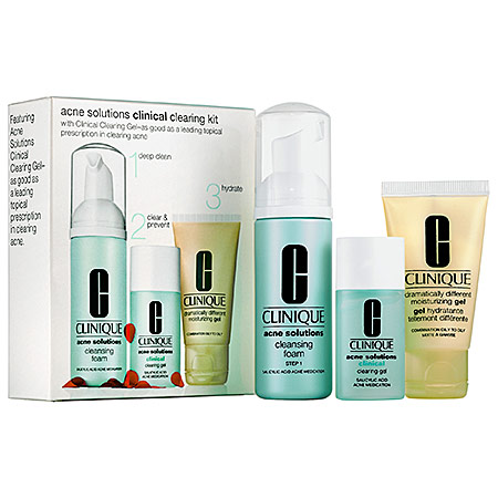 Clinique Acne Solutions Clinical Clearing Skincare Set