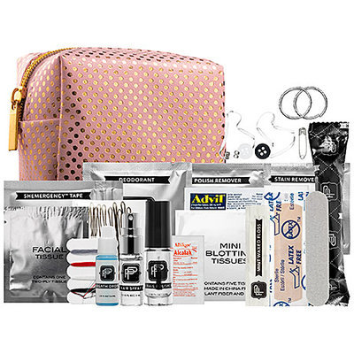 Pinch Provisions Minimergency(R) Kit For Bridesmaids - Pink/Gold Dot 3.5