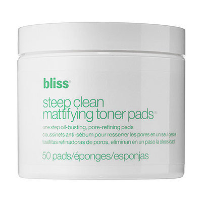 Bliss Steep Clean Mattifying Toner Pads 50 Pads