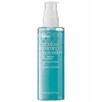 BLISS Fabulous Foaming Face Wash - NO COLOUR