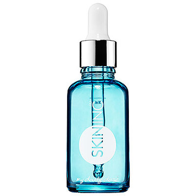 Skin Inc. Daily Dose Serum Bottle Blue 1 oz (empty bottle for custom-blended serums)