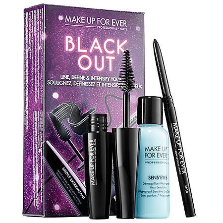 MAKE UP FOR EVER Black Out Eye Set