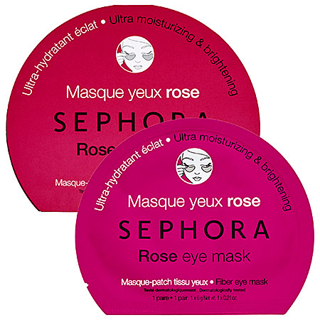 SEPHORA COLLECTION Eye Mask Rose Eye Mask- Ultra Moisturizing & Brightening 0.21 oz