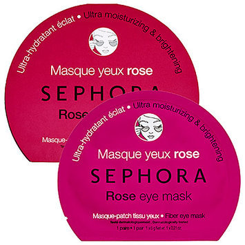 SEPHORA COLLECTION Eye Mask Rose Eye Mask- Ultra Moisturizing & Brightening 0.21 oz