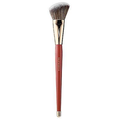 SEPHORA+PANTONE UNIVERSE Marsala Pro Angled Blush Brush #49