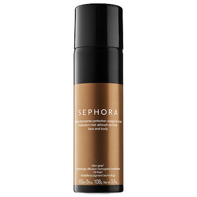 SEPHORA COLLECTION Perfection Mist Airbrush Bronzer Face and Body Medium/Deep 3.8 oz