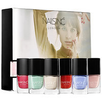 NAILS INC. Spring Summer Mini Gel Effect collection 6 x 0.15 oz