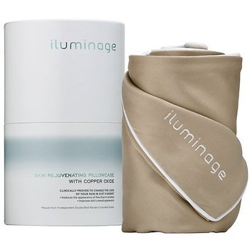 iluminage Skin Rejuvenating Pillowcase With Copper Oxide Queen