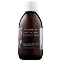 Korres Honey and Herbal Supplement Syrup 6.76 oz