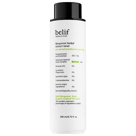 belif Bergamot Herbal Extract Toner 6.75 oz