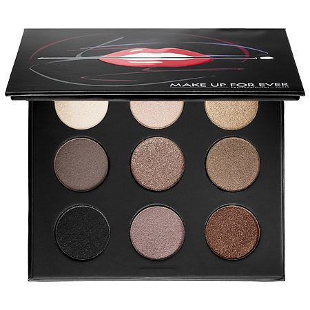 MAKE UP FOR EVER Artist Palette Volume 1 - Nudes Nudes You Need 9 x 0.06 oz