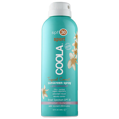 Coola Sport Continuous Spray SPF 30 - Tropical Coconut 3oz