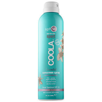 Coola Sport Continuous Spray SPF 50 - Unscented 8 oz