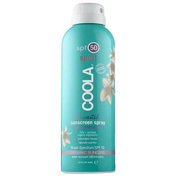 Coola Sport Continuous Spray SPF 50 - Unscented 3oz