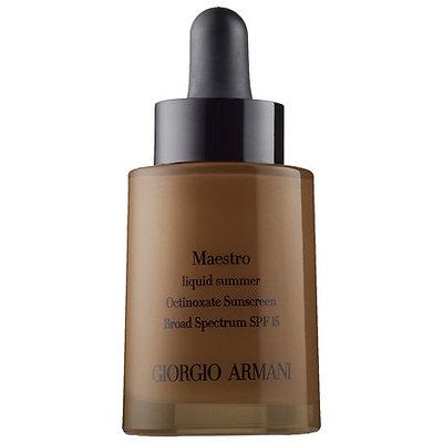 Gab Giorgio Armani Maestro Liquid Summer SPF 15 11 1 oz