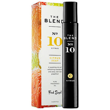 THE BLEND 10 Citrus Zest 0.17 oz Pure Fragrance Oil Rollerball