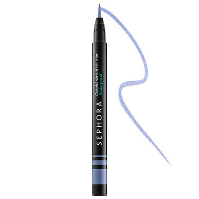 SEPHORA COLLECTION Colorful Wink-It Felt Liner Waterproof 06 Baby Blues 0.019 oz