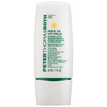 Peter Thomas Roth Max UV Milk Broad Spectrum SPF 50 PA+++ 1 oz