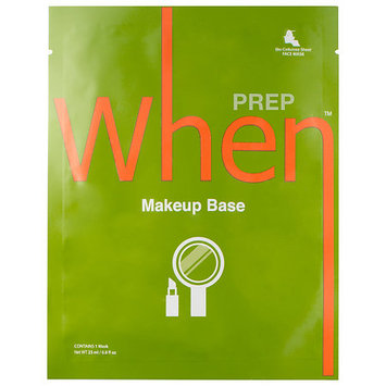 When Makeup Base Sheet Mask 0.8 oz