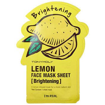 TONYMOLY I'm Real - Lemon Face Mask Sheet - Brightening