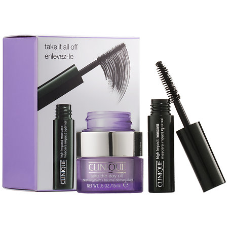 Clinique Take It All Off Mascara & Take The Day Off Cleansing Balm Gift Set