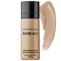 Bare Escentuals bare Minerals bare Skin(R) Pure Brightening Serum Foundation Broad Spectrum SPF 20 Bare Latte 11 0.5 oz