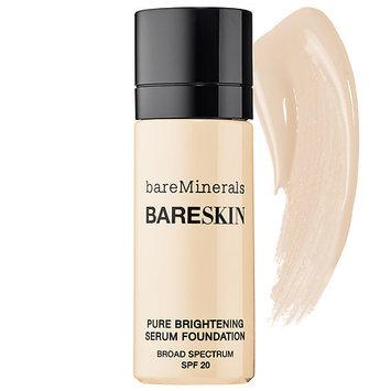 Bare Escentuals bare Minerals bare Skin(R) Pure Brightening Serum Foundation Broad Spectrum SPF 20 Bare Shell 02 0.5 oz