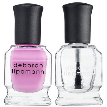 Deborah Lippmann Nail Lacquer & Top Coat Duo She Bop 2 x 0.27 oz