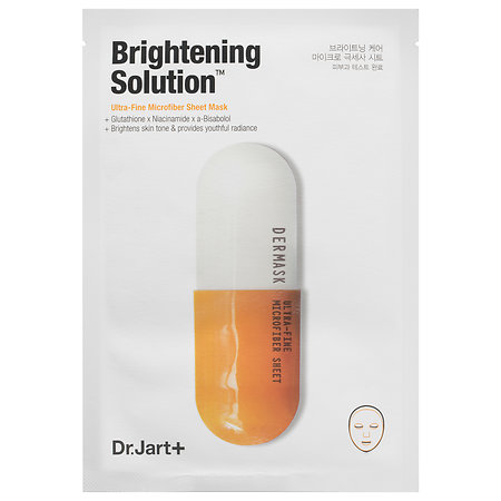 Dr. Jart+ Brightening Solution(TM) Ultra-Fine Microfiber Sheet Mask 1 Mask
