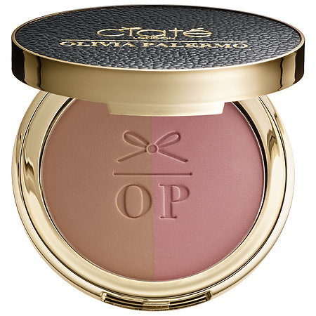 it's Ciaté London Olivia Palermo x Ciaté London The Cheekbone Cheat Blusher Bronzer Duo