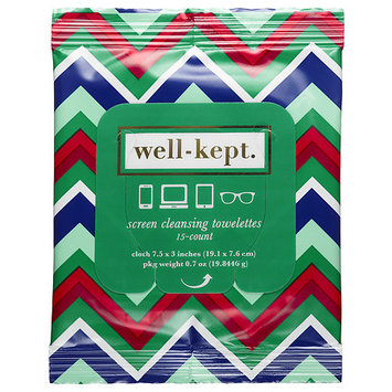 Well-kept. Well-Kept Screen Cleansing Towelettes Karogoto 15 towelettes