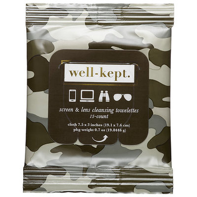 Well-kept. Well-Kept Screen Cleansing Towelettes Frank 15 towelettes