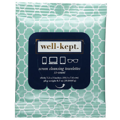 Well-kept. Well-Kept Screen Cleansing Towelettes Cape View 15 towelettes