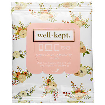 Well-kept. Well-Kept Screen Cleansing Towelettes Britt 15 towelettes