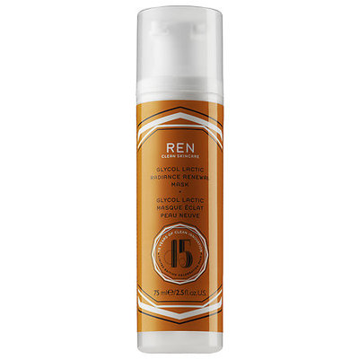 REN Limited Edition Glycolactic Radiance Renewal Mask, 75ml