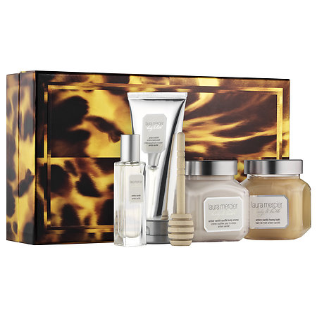 Laura Mercier Sweet Temptations Ambre Vanille Luxe Body Collection