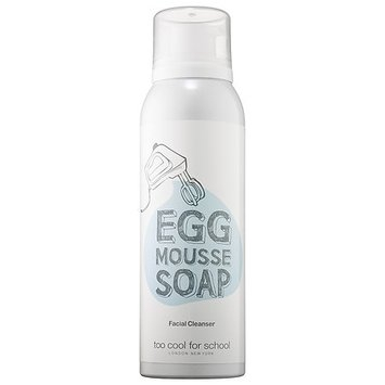 Too Cool For School Egg Mousse Soap Facial Cleanser 5.07 oz