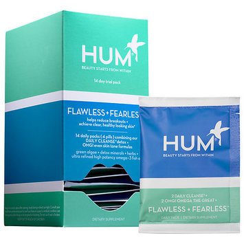 Hum Nutrition Flawless + Fearless Supplements 14 daily packs x 4 pills each