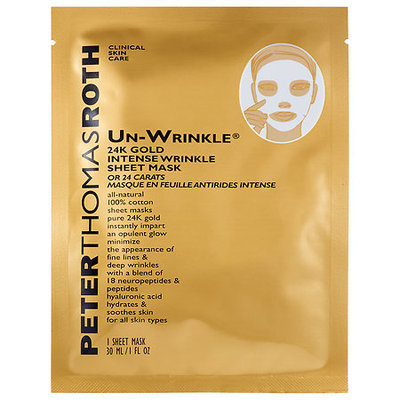 Peter Thomas Roth Un-Wrinkle(TM) 24k Gold Intense Wrinkle Sheet Mask