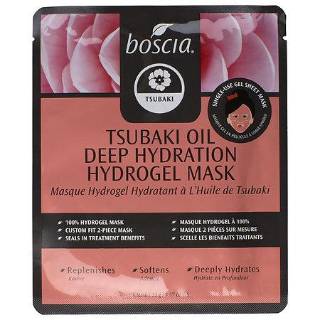 boscia Tsubaki Oil Deep Hydration Hydrogel Mask 1 mask