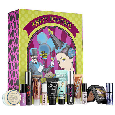 Benefit Cosmetics party poppers set