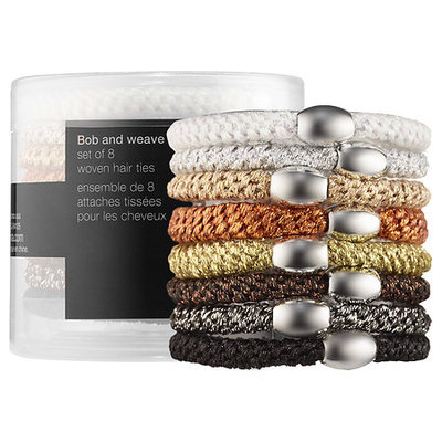 SEPHORA COLLECTION Bob and Weave Set of 8 Woven Hair Ties