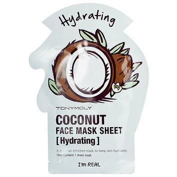 Tony Moly I'm Real - Coconut Face Mask Sheet - Hydrating (2 pack) 2 sheet masks