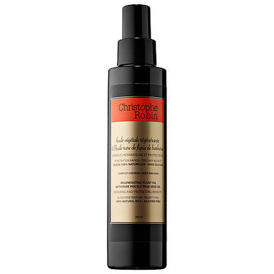 Christophe Robin Regenerating Plant Oil with Rare Prickly Pear Seed Oil