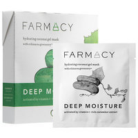 Farmacy Hydrating Coconut Gel Mask - Deep Moisture (Cucumber) 3 masks