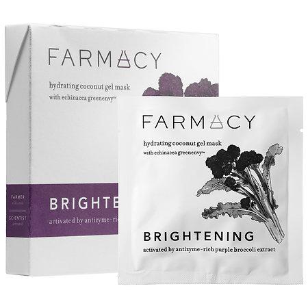 Farmacy Hydrating Coconut Gel Mask - Brightening (Purple Broccoli) 3 masks
