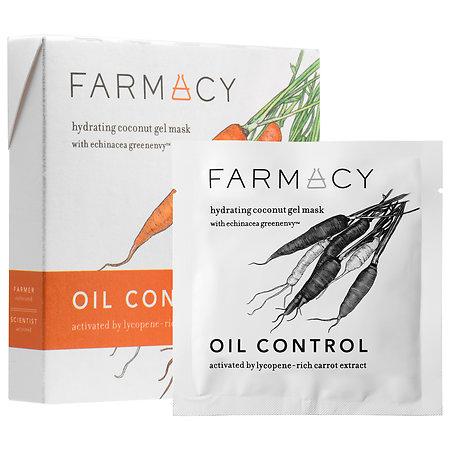 Farmacy Hydrating Coconut Gel Mask - Oil Control (Carrot) 3 masks
