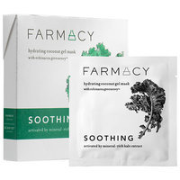 Farmacy Hydrating Coconut Gel Mask - Soothing (Kale) 3 masks