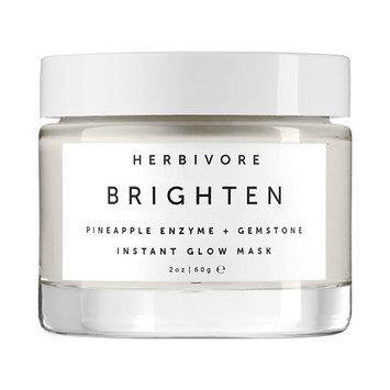 Herbivore Brighten Pineapple Enzyme + Gemstone Instant Glow Mask 2 oz